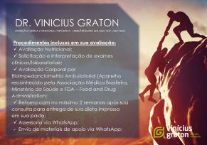 ATENDIMENTO DR. VINÍCIUS GRATON (34) 3255-1237 / 3231-8655 - R. BERNARDO GUIMARÃES 417