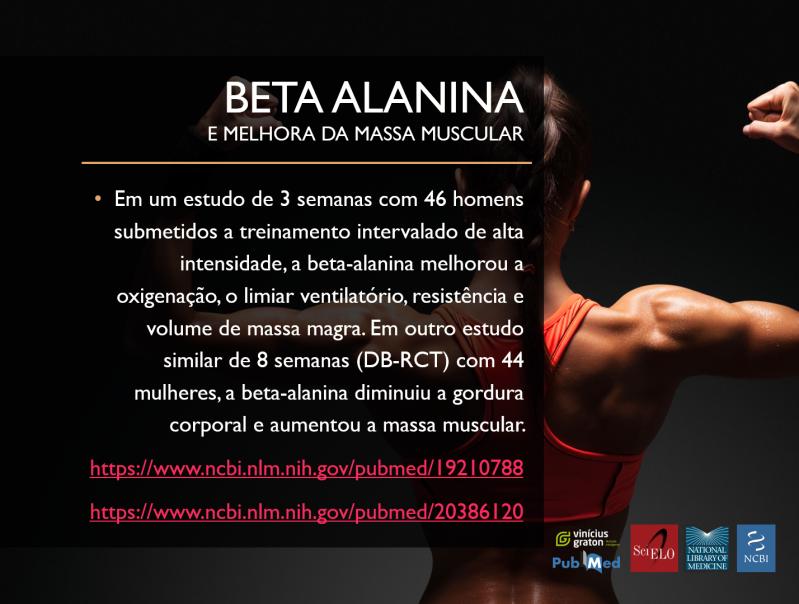 BETA ALANINA BENEFICIOS